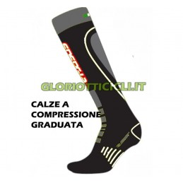 GREY GRADUATED COMPRESSION SOCKS
