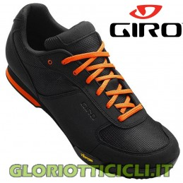 ORANGE-BLACK RUMBLE VR MTB SHOES