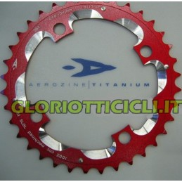 CROWN MTB BCD 104 mm 40 TEETH CNC RED