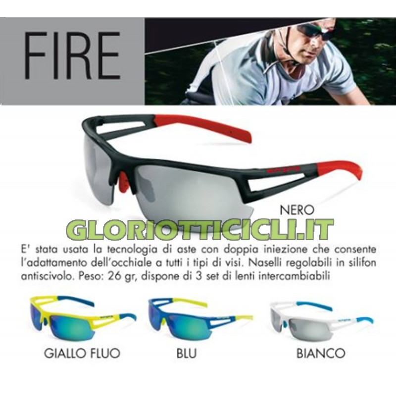 FIRE CYCLE GLASSES