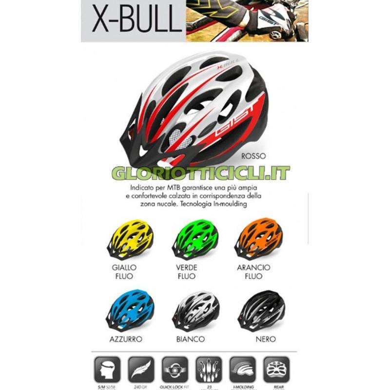 CASCO CICLO X-BULL