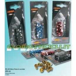 SET 12 SCREWS TORX BRAKE DISC