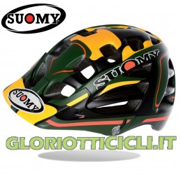 CASCO SCRAMBLER DESERT GREEN-YELLOW