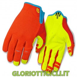 DND GLOVES ORANGE/NEON YELLOW