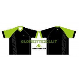 FREERIDE BLACK/GREEN JERSEY