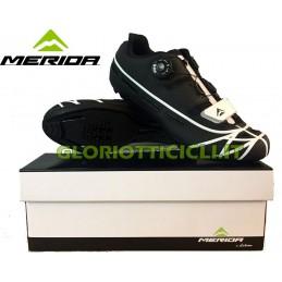 MERIDA BLACK WHITE RUNNING SHOES