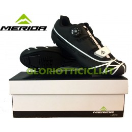 MERIDA SCARPE CORSA BLACK WHITE