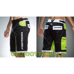 PANTALONCINO FREERIDE  BLACK/GREEN