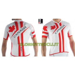 MAGLIA NATIONAL CYCLING  JERSEY CANADA