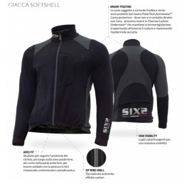 GIACCA SOFTSHELL ACTIVEWEAR