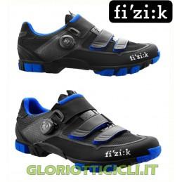 M6 BOA BLACK-BLUE MTB SHOES