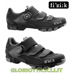 M6 BOA BLACK-SILVER MTB SHOES