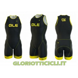 BODY TRIATHLON LONG TRI CIPRO CON CERNIERA SUL RETRO
