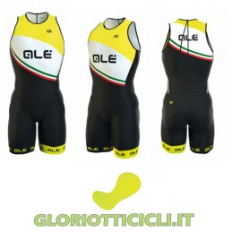 TRIATHLON OLYMPIC TRI ELBA BODY WITH ZIPPER ON THE BACK