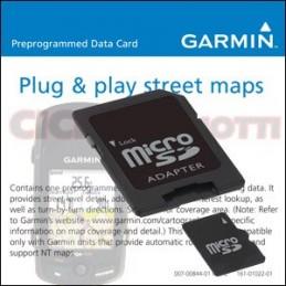 SCHEDA MICRO SD Card CARTOGRAFIA EUROPA PER EDGE