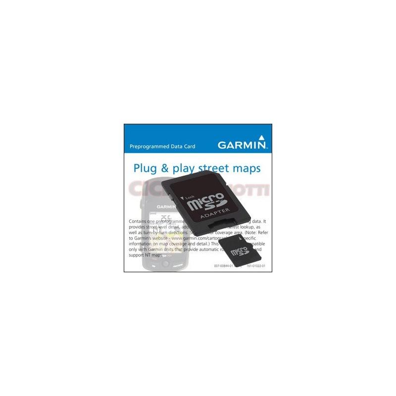 CARD MICRO SD Card CARTOGRAPHY ITALY FOR EDGE