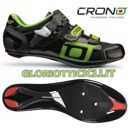 CLONE BLACK-GREEN RUNNING SHOES 2015