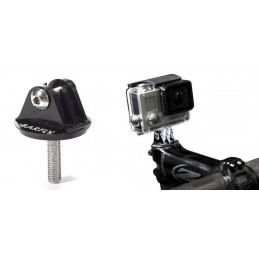 STEERING CAP WITH INTEGRATED GOPRO SUPPORT
