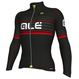 JERSEY M/L PRR 2.0 BLACK-RED CLIMB