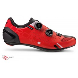 CR2 SOLE ROAD BK CARBON COMPOSIT RED RUNNING SHOES