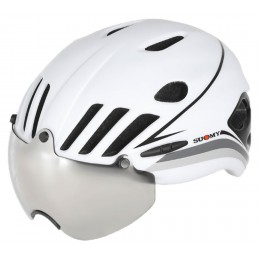CASCO VISION WHITE BLACK
