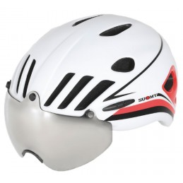 VISION WHITE RED HELMET