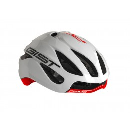RED FIRST WHITE HELMET