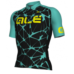 MAGLIA M/C SOLID CRACLE TURCHESE
