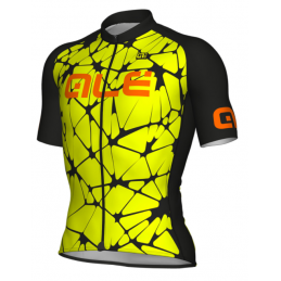 MAGLIA M/C SOLID CRACLE GIALLO FLUO