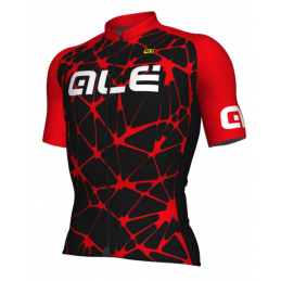 JERSEY M/C SOLID CRACLE BLACK RED