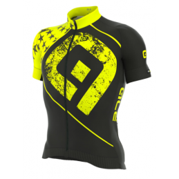 JERSEY M/C GRAPHICS PRR STAR YELLOW FLUO