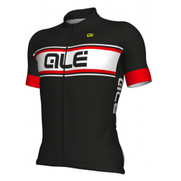 JERSEY M/C SOLID VETTE BLACK RED