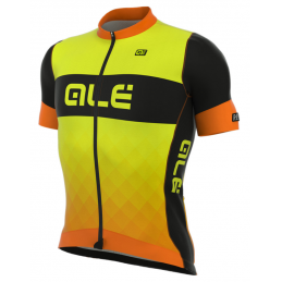 JERSEY M/C R-EV1 RUMBLES YELLOW FLUO