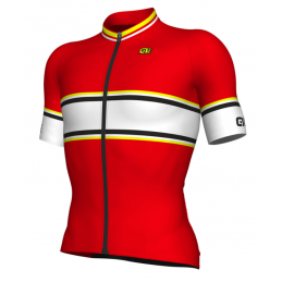 JERSEY M/C REV-1 SPEED BACKGROUND RED YELLOW FLUO
