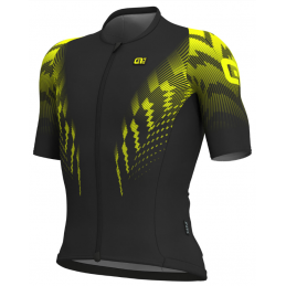 JERSEY M/C R-EV1 PRO RACE BLACK YELLOW FLUO