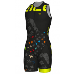 BODY S/M LONG TRI STARS ZIP FRONT
