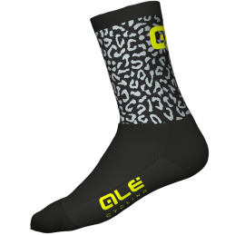CALZE Q-SKIN AGGUATED BLACK YELLOW FLUO