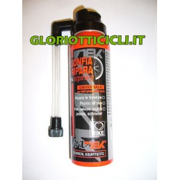 INFLATES AND REPAIRS SPRAY